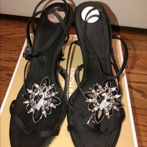 Shoes - Black sandal heels